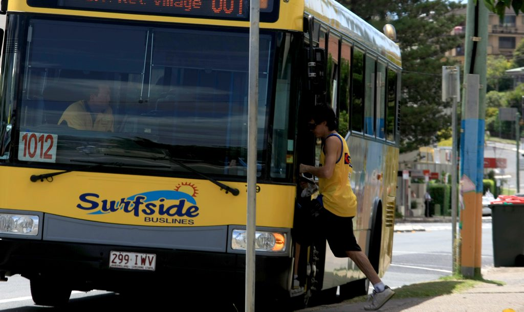 The company said in a statement that the use of security personnel in school buses was to curb