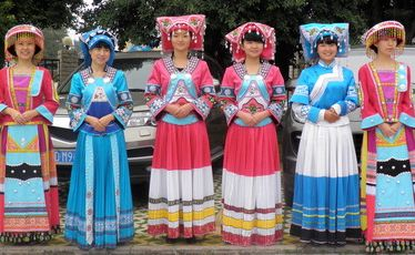 Yunnan is home to 25 different ethnic minorities.