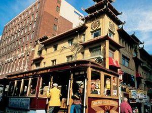 San Francisco: golden plate
