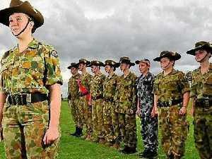 Soldier spirit alive in schools