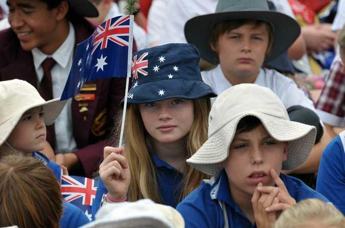 Anzac Day at Tewantin. Photo Geoff Potter / Noosa News.
