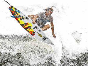 Shredding up 'monster' waves