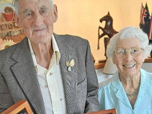 Bill earns medals 64 years on