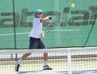 Maryborough Tennis player Patrick Banney mad it to the semi-final of the RSL Gympie Tennis Open .