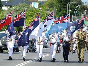 Hervey Bay commemorates Anzac Day