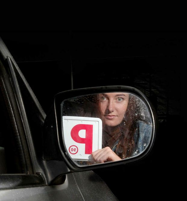Breeanna Hill with her P-plates has joined the online MyLiveTribe forum.