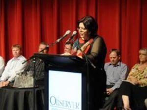 Gail Sellers election speech