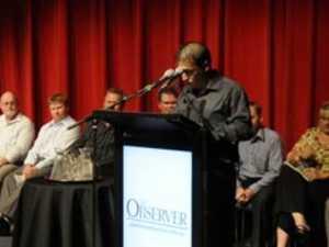 Matt Burnett election speech
