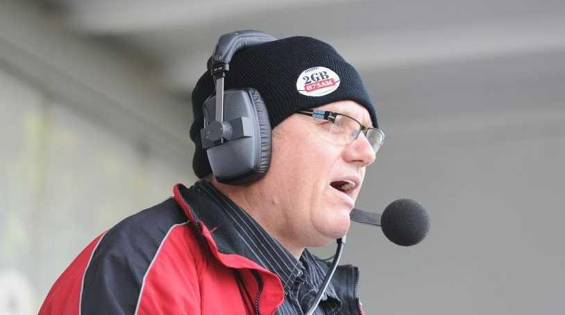 Radio commentator Ray Hadley.