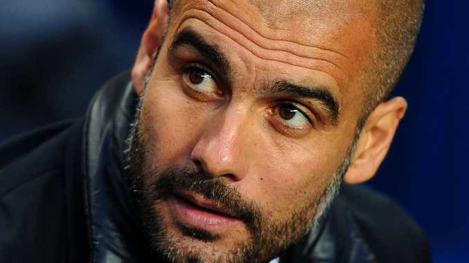 Coach Pep Guardiola is to leave Barcelona FC.