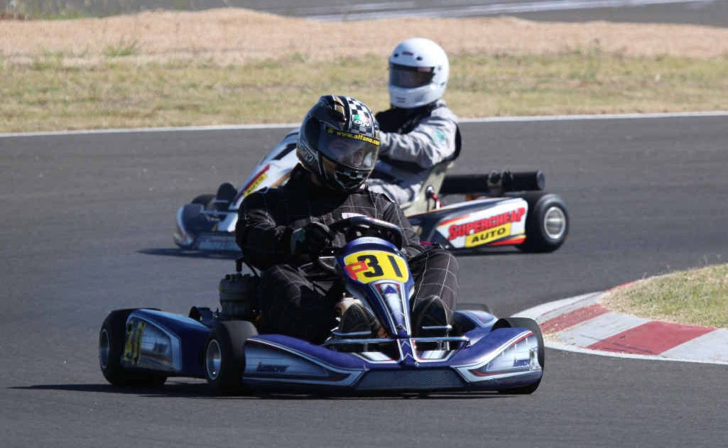 Karters young and old were offered the opportunity to try out the new Emerald race track at the weekend, with 260 drivers putting pen to paper for a go.