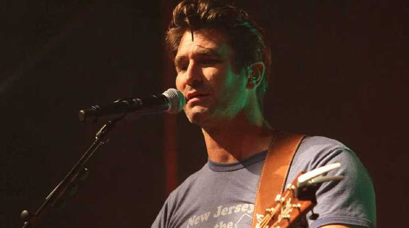 Pete Murray pleases his Rocky fans at the Great Western last Thursday night as part of his Queensland tour.