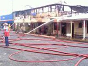Calen pub gutted by fire