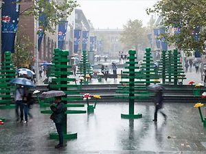 Syndey's life-sized LEGO forest