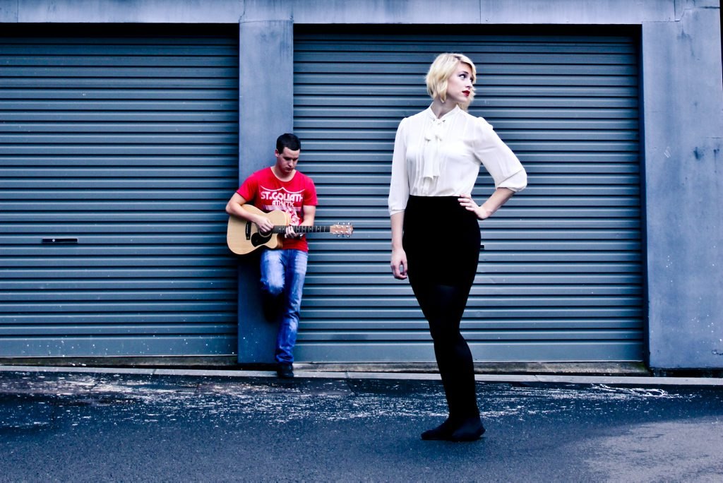 Toowoomba musicians Erin Fitzsimon and Liam Falk hope their band Inigo will win the local support slot at the upcoming Dalby One Night Stand Concert.