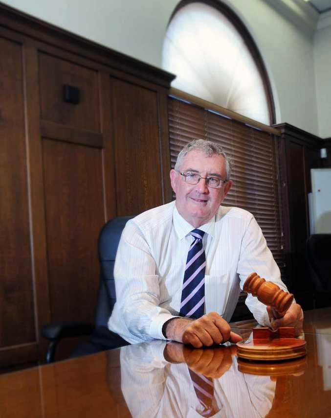 WINNER: Re-elected Gympie Region Mayor Ron Dyne.