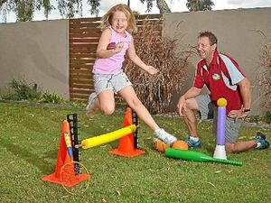 Tots get into sport fun