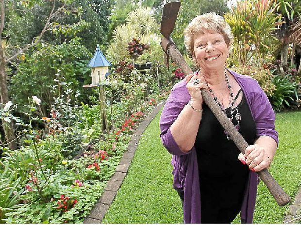 Penny Hegarty is opening her garden to the public to help raise funds for a Nambour community project.