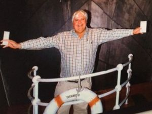 Clive Palmer unveils his plan for birth of Titanic II