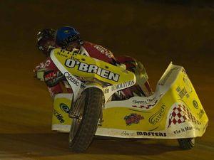 Glenn chasing sidecar record