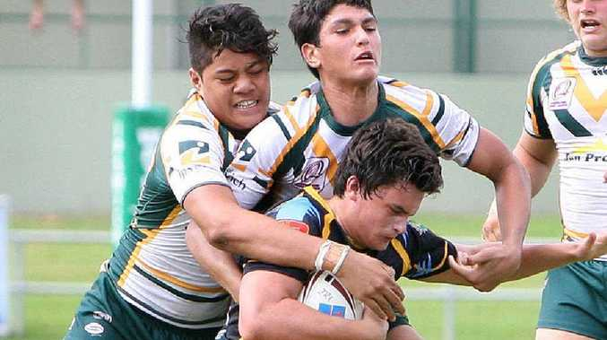 The Ipswich Jets hope any new NRL feeder club relationship leaves the region's best junior talent, like those pictured playing for the Ipswich under-16s against Sunshine Coast in the Cyril Connell Cup this season, in Ipswich.