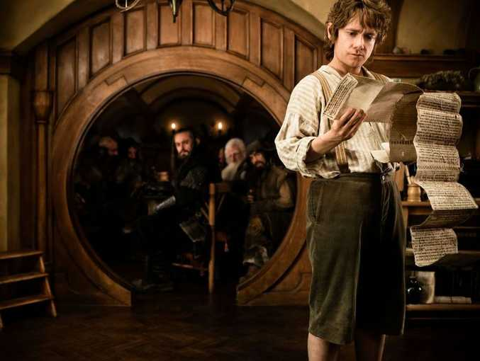 """Martin Freeman as Bilbo Baggins in New Line Cinema's and MGM's fantasy adventure """"The Hobbit: An Unexpected Journey,"""" a Warner Bros. Pictures release."""