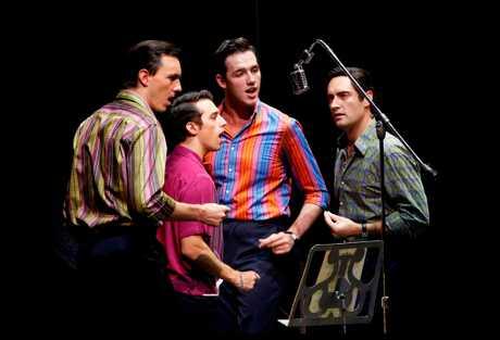The original Australian cast of Jersey Boys.