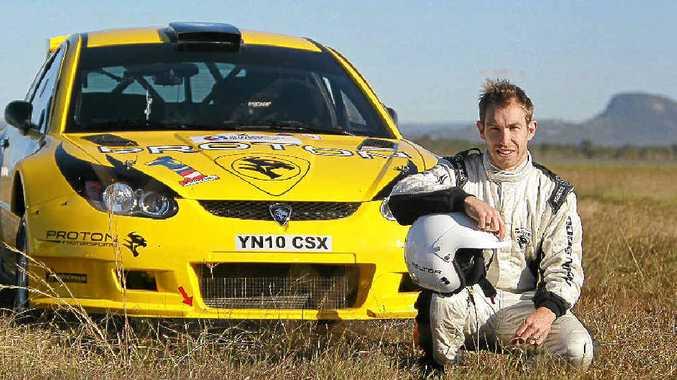 Aussie rally ace Chris Atkinson.