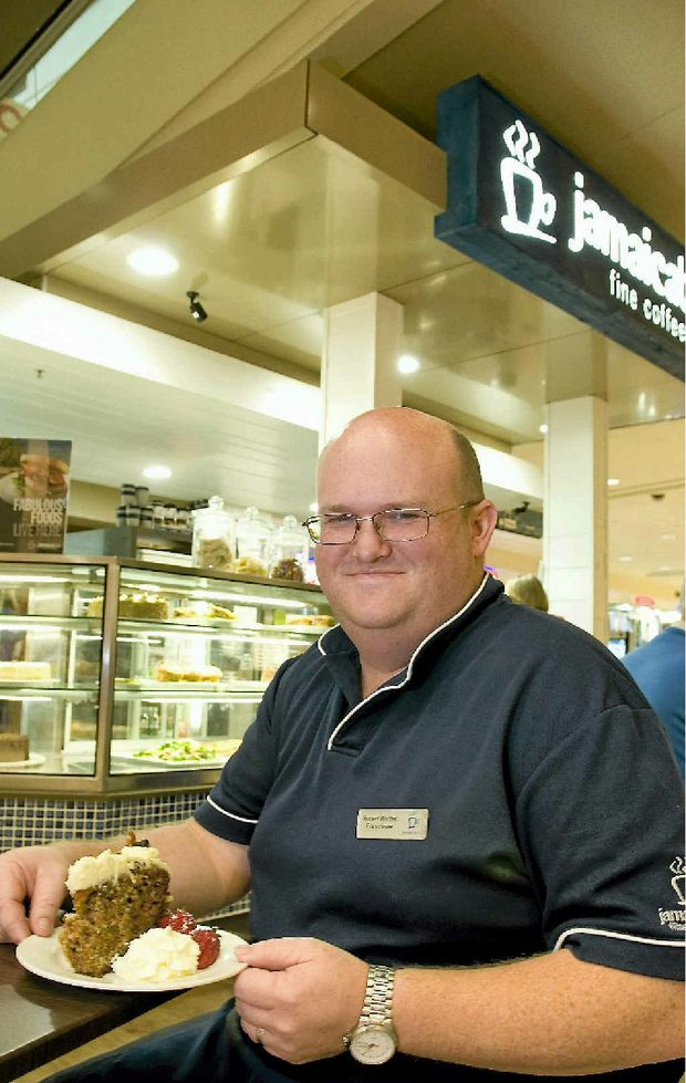 Jamaica Blue franchisee Robert Whittet at his Grand Central business.