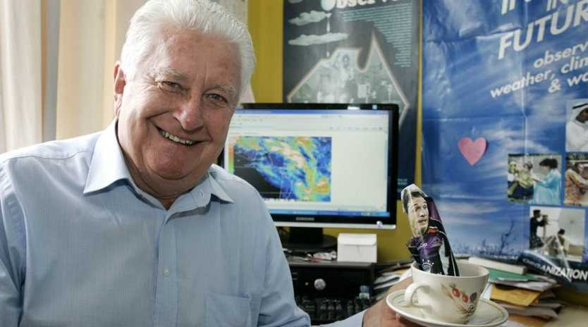 The sun is about to set on the career of WIN News weatherman Peter Byrne.