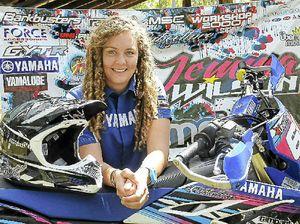 Jemma rides in sport star race
