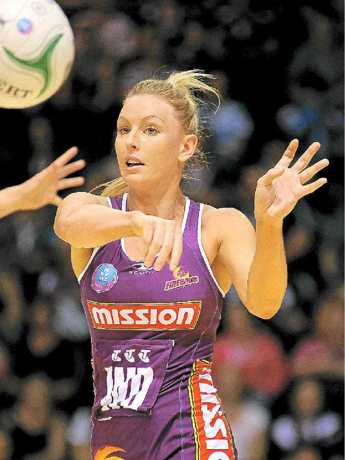 Keirra Trompf admits the Firebirds' confidence is down.