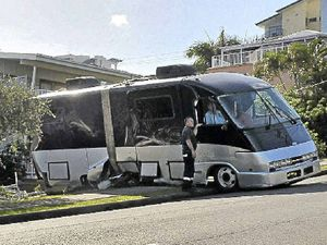 Jinxed motorhome keeps on rolling