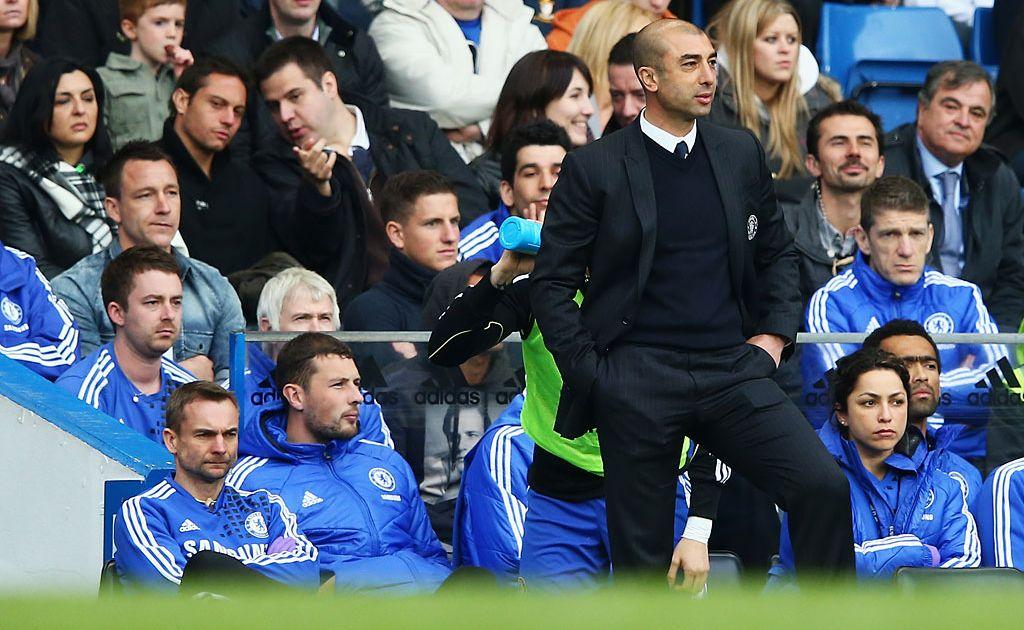 Chelsea coach Roberto di Matteo.