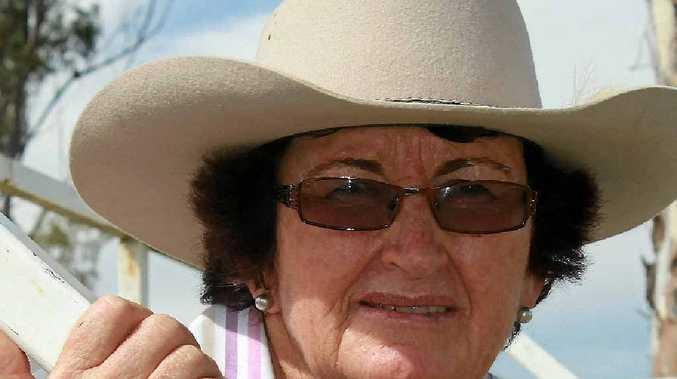 Australian Stock Horse Society Eastern Downs branch president Lorna Fanning.