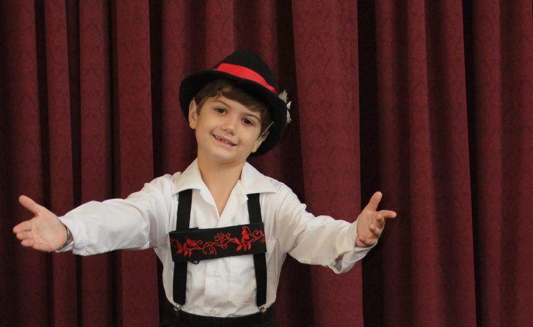 TINY DANCER: Christian Lane-Krebs poses during the Kingaroy Eisteddfod this week. Photo: Danielle Lowe / South Burnett Times