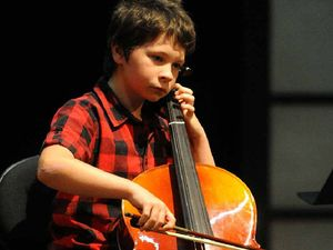 Young musicians wrap up