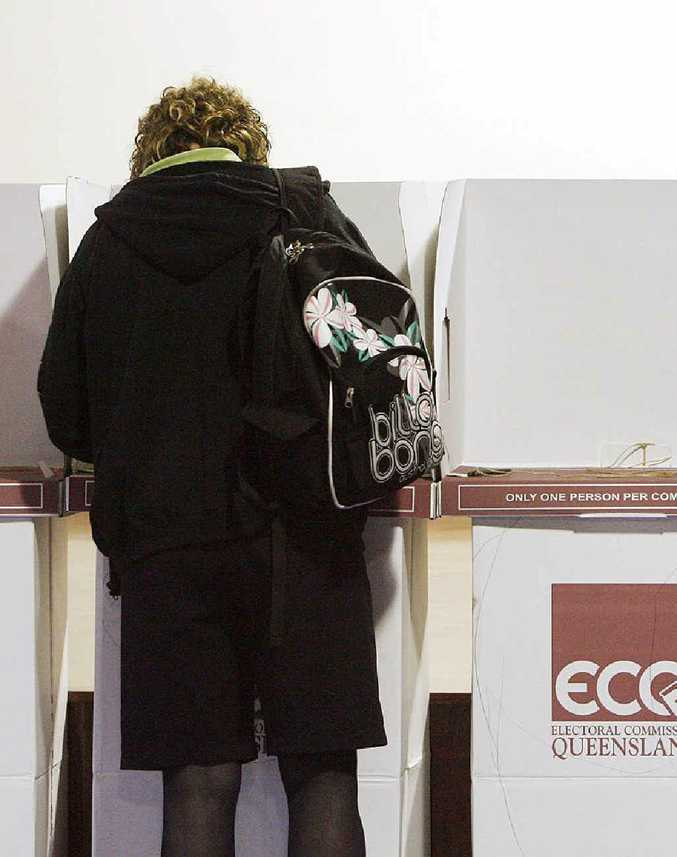 A low turnout of voters was seen across the state.