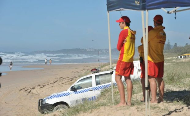 A body has been found on Marcus Beach.