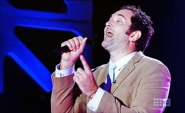 Sunshine Coast star Darren Percival on The Voice.