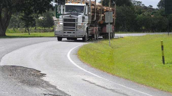 Gympie's major roads continue to be repaired following flood damage earlier this year.