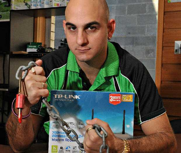 Micro Computers' Giovanni Spinella warns people to secure their wireless networks.
