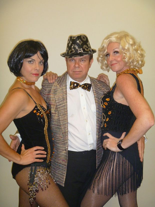 Some of the cast from the production of Chicago.