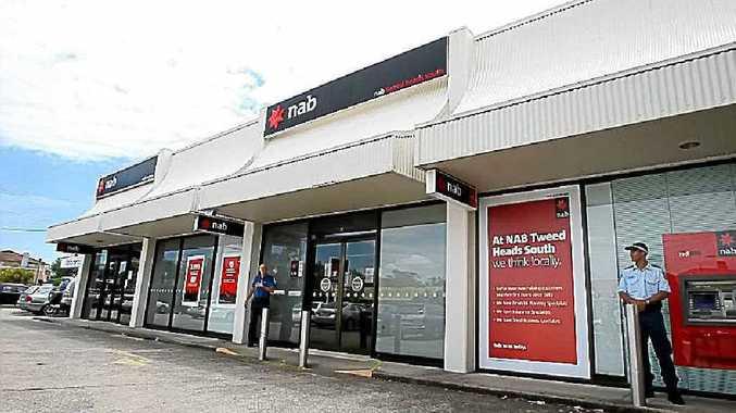 The NAB branch at Tweed City.