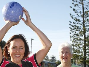 Netball mums given chance to score