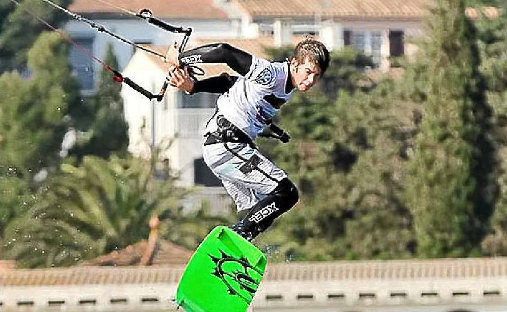 Kiteboarder Andy Yates now has the prospect of competing at an Olympic Games in 2016.