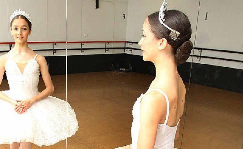 Fourteen-year-old ballerina Alysha Martignago.