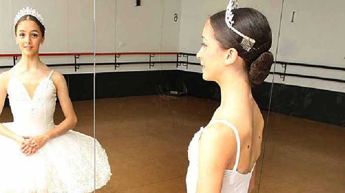 Fourteen-year-old ballerina Alysha Martignago.