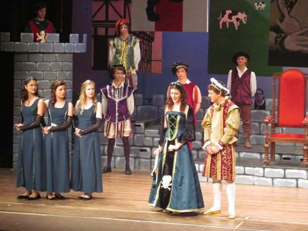 St Patrick's College performed Henry at the Gympie Civic Centre.