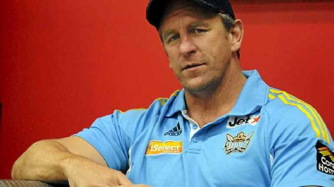 Gold Coast Titan's Coach John Cartwright in Gladstone.